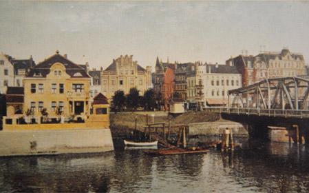 Historische Postkarte der Villa Seebeck Bremerhaven